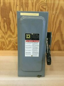 Square D H361 30amp 480v Fused Safety Switch