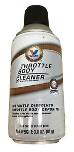 Valvoline Throttle Body Cleaner With Swab And Straw Tip