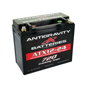Antigravity Batteries Atx12 24 Oem Case Size 720 Cca Lithium Ion Battery Left