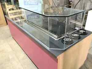 Refrigerated Ice Cream Prep Table From Maggie Moo Store