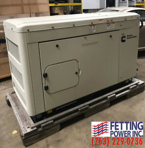 New 25kw Cummins Natural Gas Stationary Generator C25 n6 S n B140631751