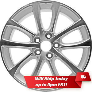 New 18 Machined Silver Alloy Wheel Rim For 2013 2014 2015 Toyota Avalon