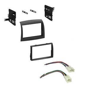 Car Radio Stereo Dash Install Kit With Harness For 2004 2010 Toyota Sienna Van