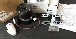 Nos Prw High Flow Electric Sb Chevy 265 400 Racing Water Pump 4435007