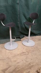 Lot Of 3 Qty Steelcase H353 sb3119 Drafting Table Stools Coalesse New Modern