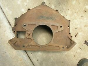 Gm October 58 Chevy Corvette Bellhousing 3733365 Fuelie 2x4 1959 283 T 10 Sbc