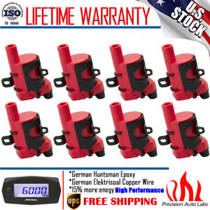 8 Pack Ignition Coil For Chevy Silverado 1500 2500 Gmc 5 3 6 0l 4 8l Uf 262 D585
