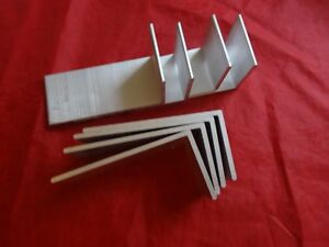 2 X 4 Aluminum Angle 1 8 Thick 1 3 4 In Length 8 Pieces
