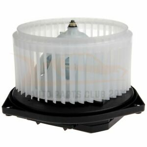 Abs Plastic Heater Blower Motor With W Fan Cage For Infiniti Nissan Front