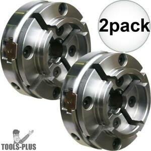 Nova Lathes 48111 1 8 Tpi Direct Thread Midi Wood Turning Chuck 2x New