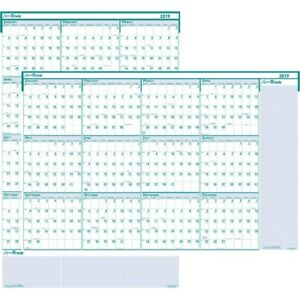 House Of Doolittle Express Track Yearly Laminated Planner