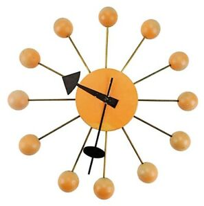 George Nelson For Howard Miller Original Wall Clock Mid Century Modern