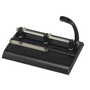 Master Heavy duty 3 Hole Punch Adjustable Paper Punch