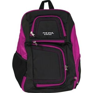 Mead Carrying Case backpack For 17 Notebook Purple Black