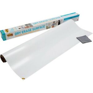 Post it Self stick Dry Erase Film Surface 36 X 24 White