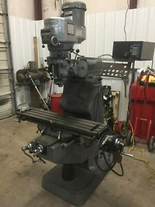 Bridgeport Series I 1 Milling Machine With Dro X Axis Feed Great Condition