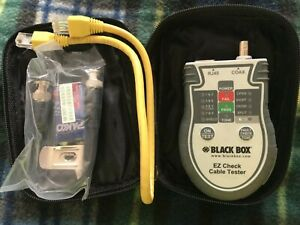 Black Box Ez Check Cable Tester ezct New