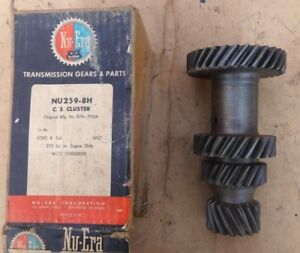 Nors 1957 Ford Fairlane 272 Transmission Countershaft Cluster Gear Nu era