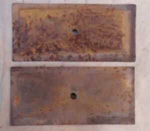 1911 1922 Model T Ford Engine Valve Cover Side Plates Original Pair