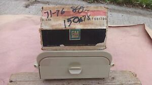 Nos Gm Under Seat Tissue Dispenser Original 1971 1976 Chevy Pontiac Oldsmobile