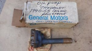 Nos 1940 1953 Chevy Oil Pump Unit Original Gm Special Master Deluxe 85 Truck 216
