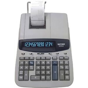 Victor 1570 6 14 Digit Professional Grade Heavy Duty Commercial Printing Calcula
