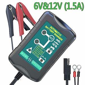 Lst Battery Trickle Charger Automatic Maintainer 6v 12v Portable Smart Float
