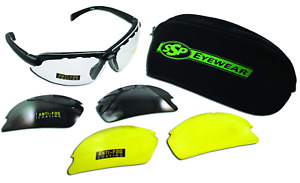 Ssp Eyewear 1 50 Bifocal Shatterproof Shooting Glasses Kit With Assorted Color
