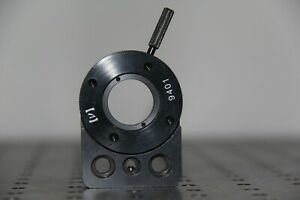 New Focus Newport 9401 Rotary Mount For 1 Waveplates Or Polarizers 8 32 Thread