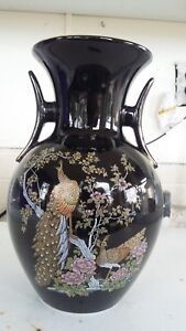 Antique Japanese Porcelain 10 Vase Jardiniere Ewer Brush Pot Cachepot