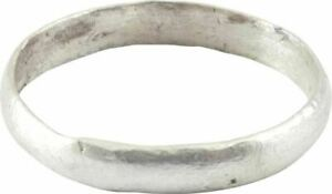 Ancient Viking Man S Wedding Ring Norse Band C 850 1050 Ad Size 10 20 8mm