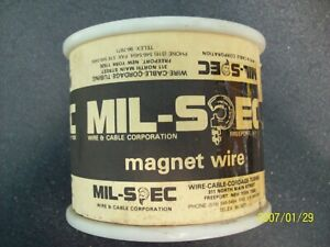 New Old Stock Magnet Wire 36 Gauge Hpn red 5 77lbs