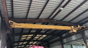 5 Tn Robbins Myers Overhead Bridge Crane 37 used 2 Unids
