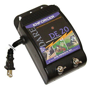 Dare Products Inc Electric Fence Energizer 1 acre Plug in 05 joule De 20