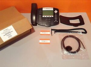 Polycom Soundpoint Ip650 Sip W Poe 6 line 2200 12651 025 Voip Refurbished