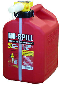 No Spill Inc Gas Can Carb Compliant 2 1 2 gal 1405