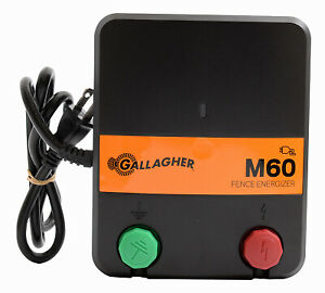 Gallagher North America Electric Fence Charger M60 0 6 Joules 110 volt