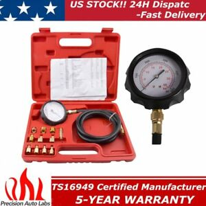 500psi Auto Transmission Oil Pressure Tester Gauge Engine Diagnostic Kit Tu 11a