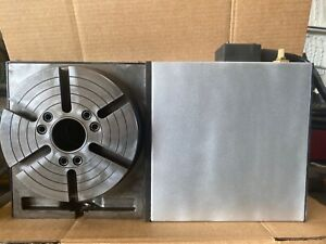 Haas Hrt 210 Hrt 210 Brush 4th Axis Rotary Table see Video 100 Serviced