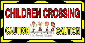 choose Your Size Children Crossing Decal Ice Cream Concession Truck Sticker