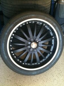 Jeep Rims 24 Giovanna Gello Rims Black With Gianelli Tires 5 Rims 5 Tires