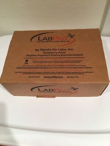 Labpaq By Hands on Labs Inc Chemistry Kit Incomplete Beakers Petri Dish Thermo