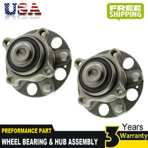2 Premium Rear Wheel Hub Bearing Assemblies With Warranty Fits Tsx Accord