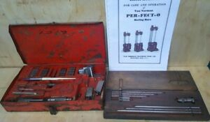 Van Norman 944 Cylinder Boring Bar Tool Kit Manual