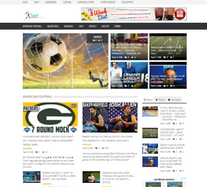 Top Daily Sports News Website Script Wordpress Free Hosting For 1 Month