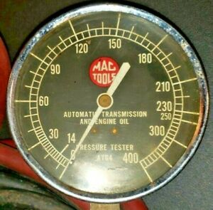 Mac Tools Atg4 Automatic Transmission And Engine Oil Pressure Tester
