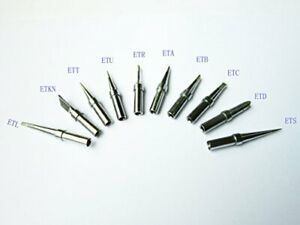 10 Pcs Weller Et Replacement Soldering Tips For Wes51 50 wesd51 pes51 50 lr21