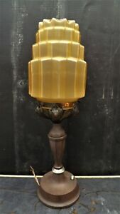 Art Deco Lamp Table Top Item Of Quality