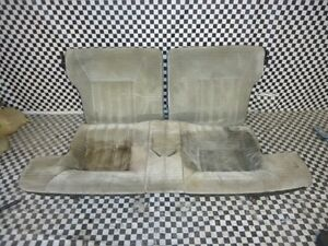 1979 80 81 82 83 Datsun 280zx Light Gray Oem 2 2 Rear Seats