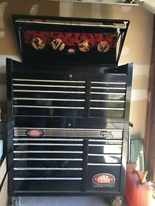 Mac 60th Anniversary Limited Edition Tool Box With Mb1050 11 Drawer Top Box